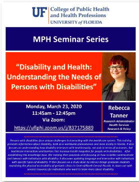 Health and Disability Presentation
